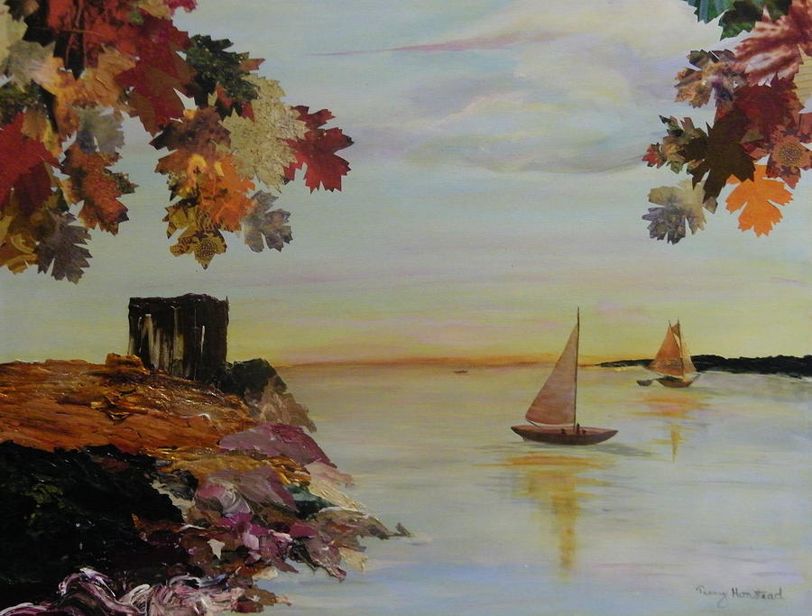 Terry Honstead Painting - Sail Away by Terry Honstead