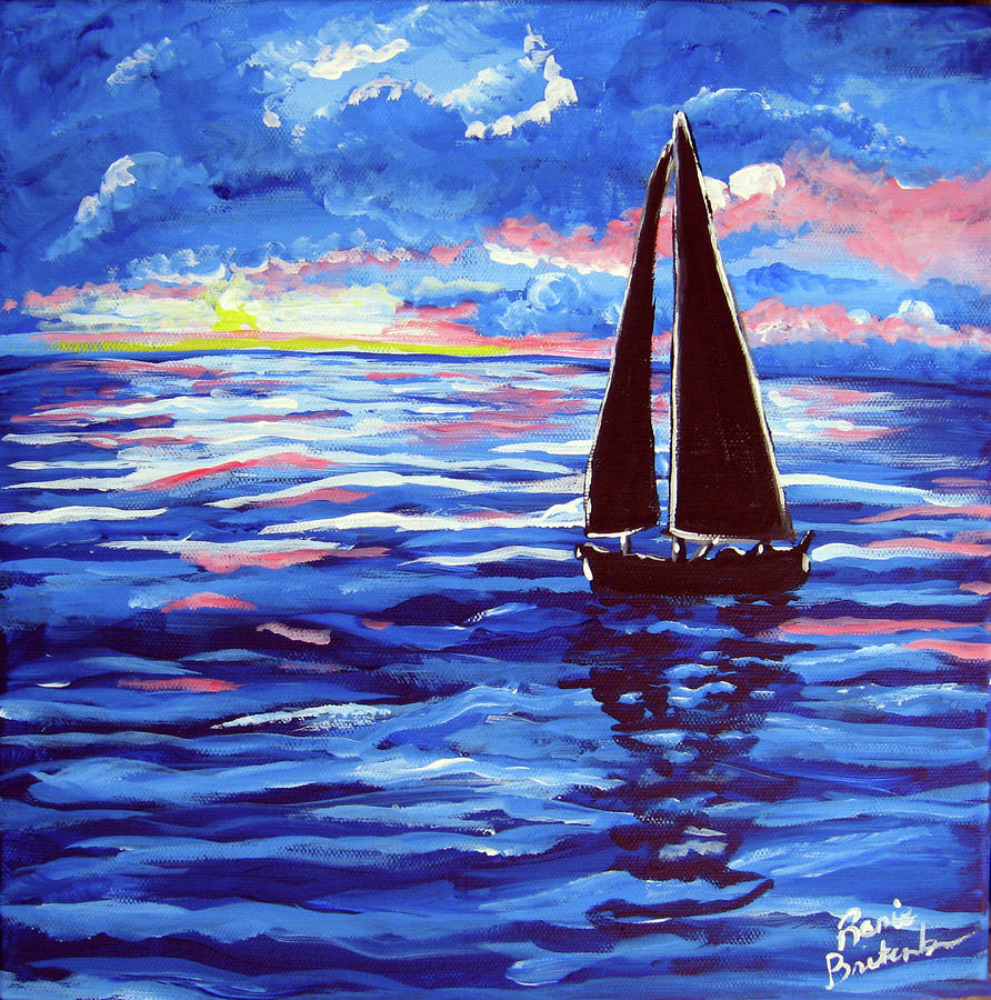 Sailboat Reflections Renie Britenbucher