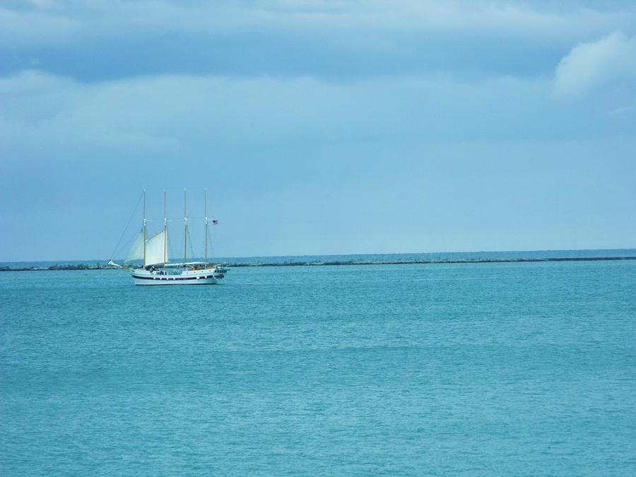 Sailboat Summer Photograph