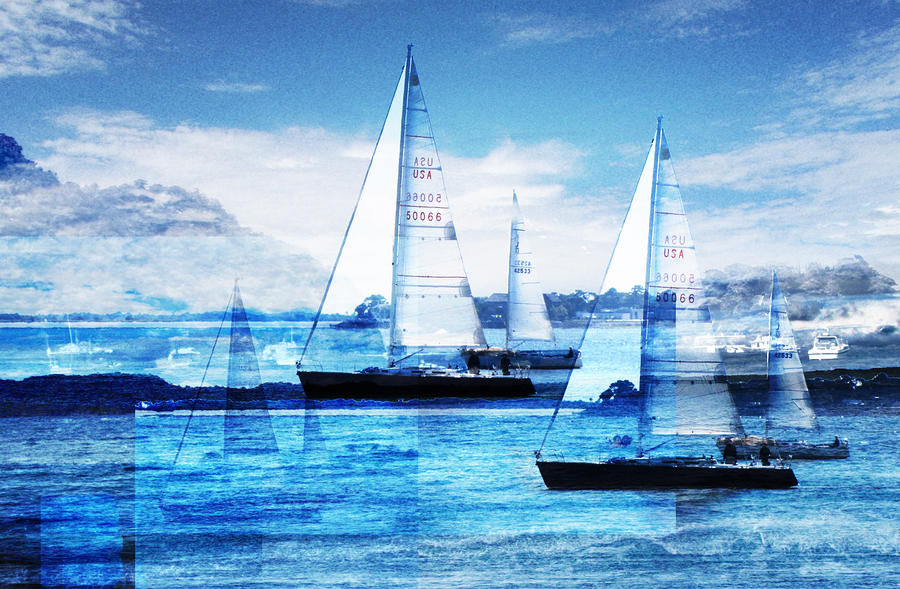 Sailboats Photograph