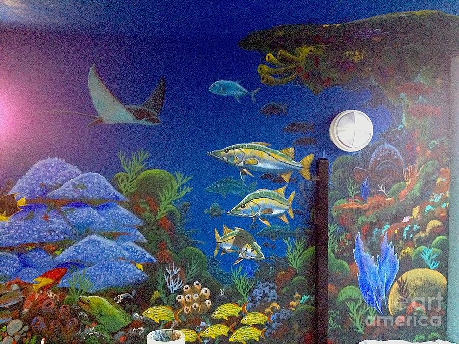 Sailfish Splash Park Painting - Sailfish Splash Park 9 by Carey Chen