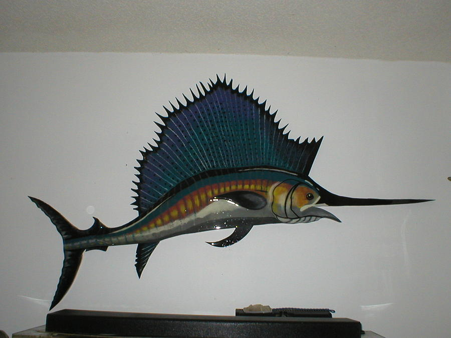 Sailfish Mixed Media  - Sailfish Fine Art Print