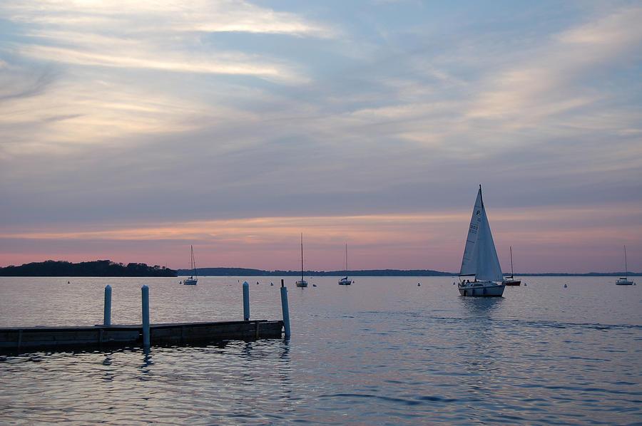 Sailing At The Uw - Madison Photograph