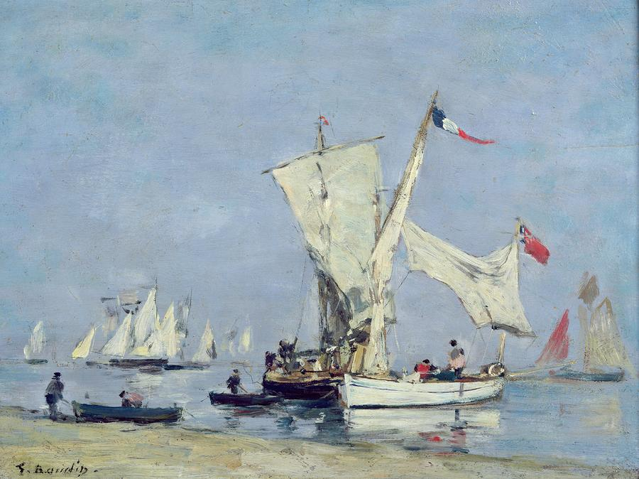 Sailing Boats Painting