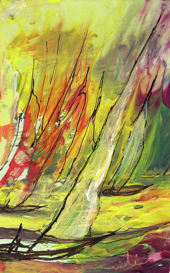 Sailing Impression 04 Painting