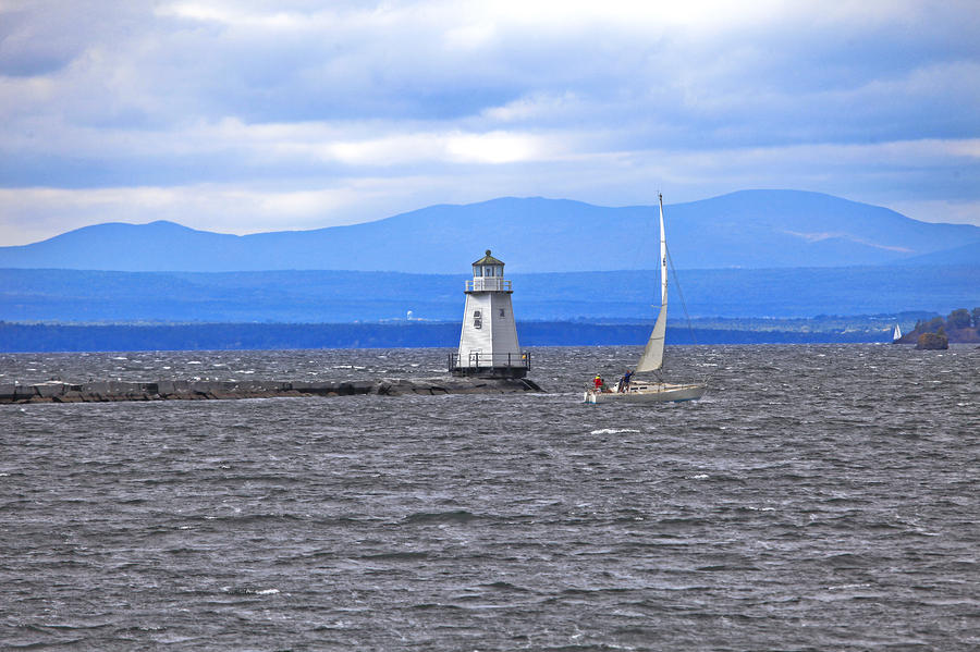 Sailing In To Open Waters Photograph