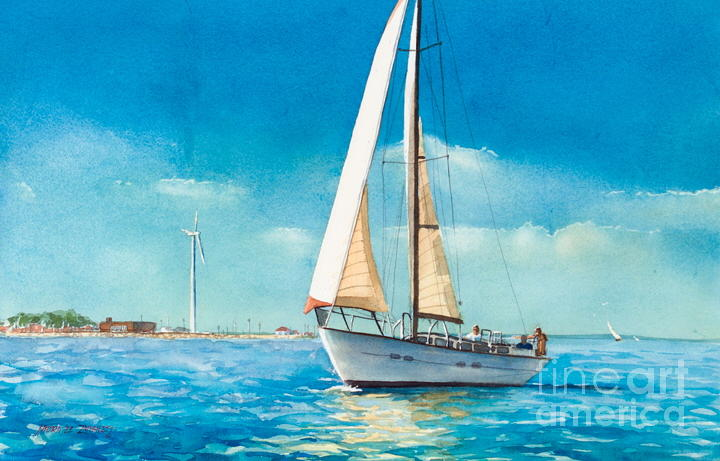 Sailing Through The Gut Painting