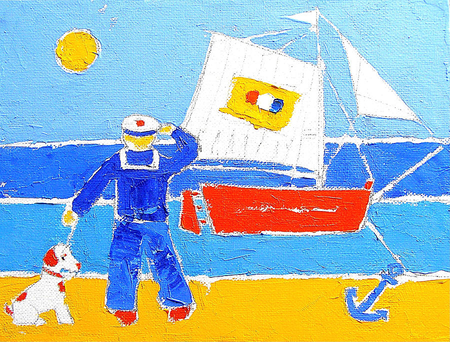 Sailor Series No.3 Painting