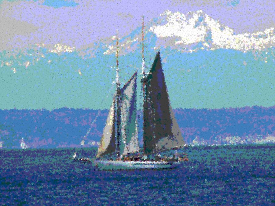 Sailors Delight Digital Art