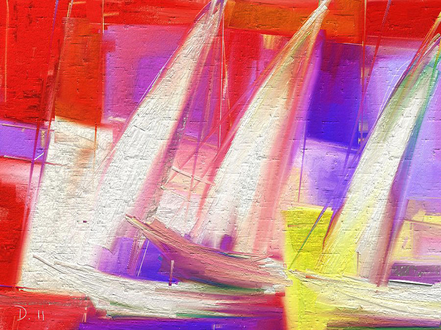 Sails-digart Painting