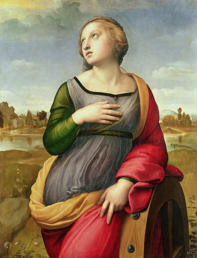 Saint Catherine Of Alexandria Painting