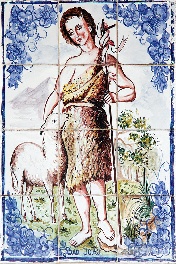 Tiles Photograph - Saint John by Gaspar Avila