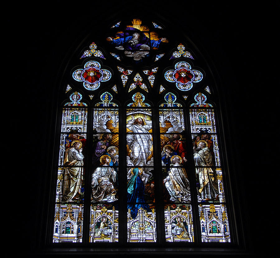 Saint Johns Stained Glass Photograph