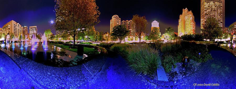 Saint Louis City Garden Panorama Photograph