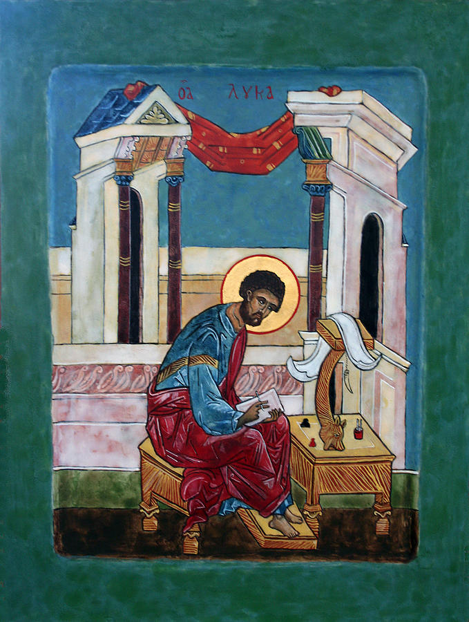 Saint Luke Painting