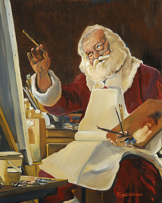Saint Nick Painting Painting