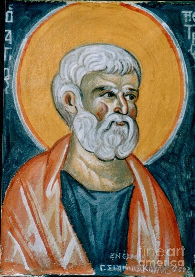 Saint Peter Painting  - Saint Peter Fine Art Print