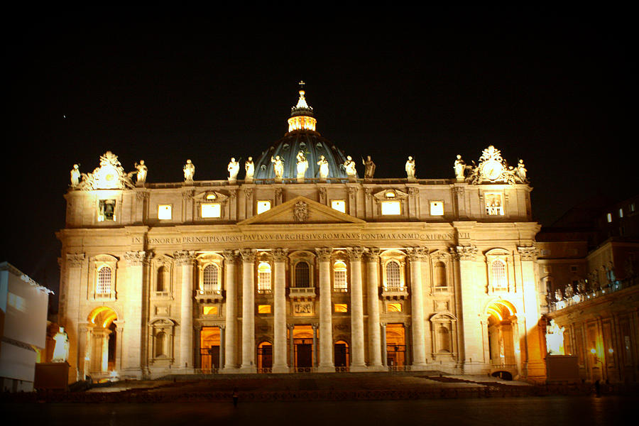 Saint Peters Night Photograph  - Saint Peters Night Fine Art Print