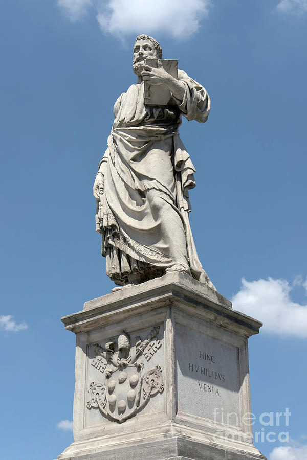 Saint Peters Statue Photograph  - Saint Peters Statue Fine Art Print