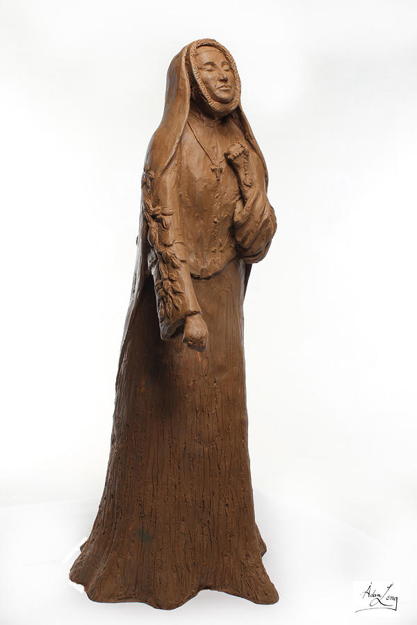 Saint Rose Philippine Duchesne Sculpture  - Saint Rose Philippine Duchesne Fine Art Print