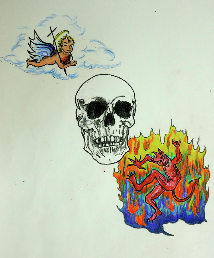 Saints And Sinners Drawing