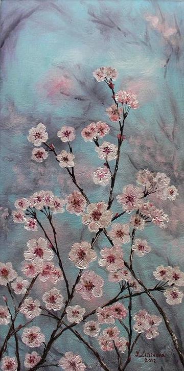 Sakura Painting