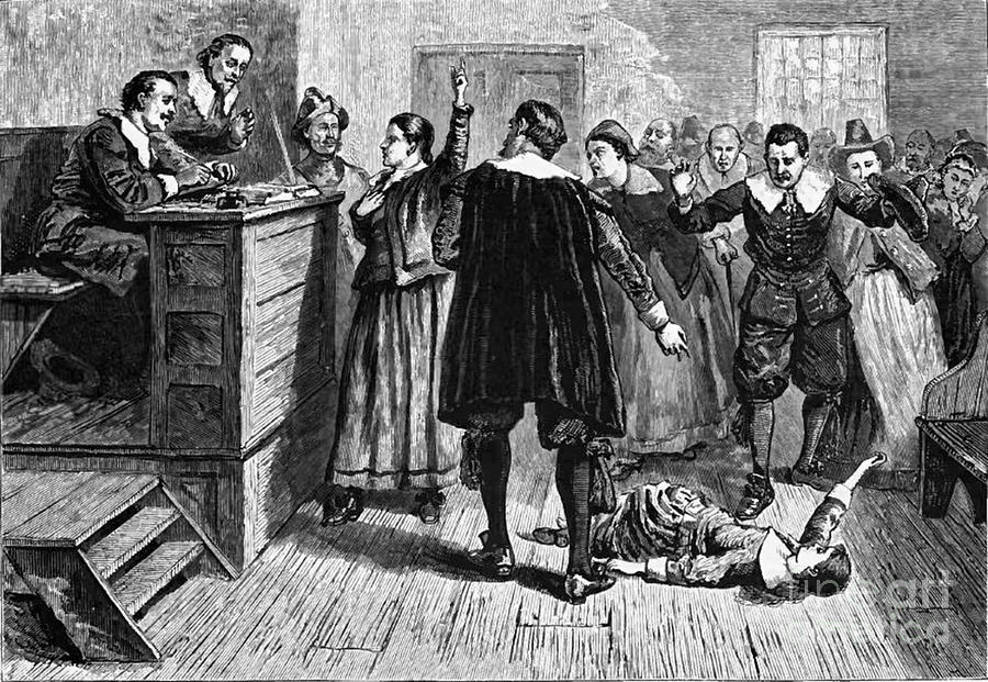 Salem Witch Trials, 1692-93 Photograph  - Salem Witch Trials, 1692-93 Fine Art Print