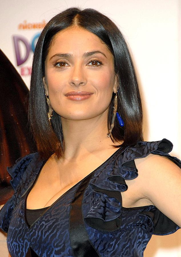 Salma Hayek At A Public Appearance Photograph