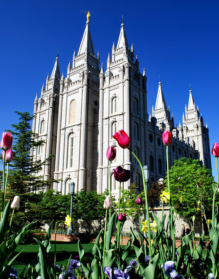 Salt Lake Temple Photograph