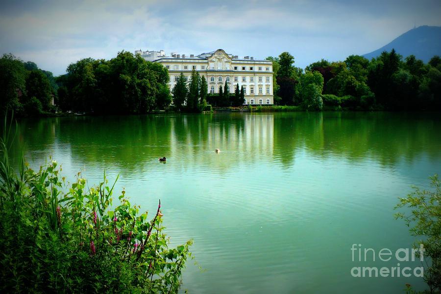 Salzburg Home With Lake Photograph