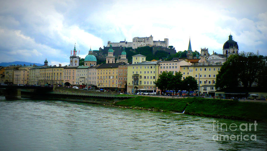 Salzburg Over The Danube Photograph