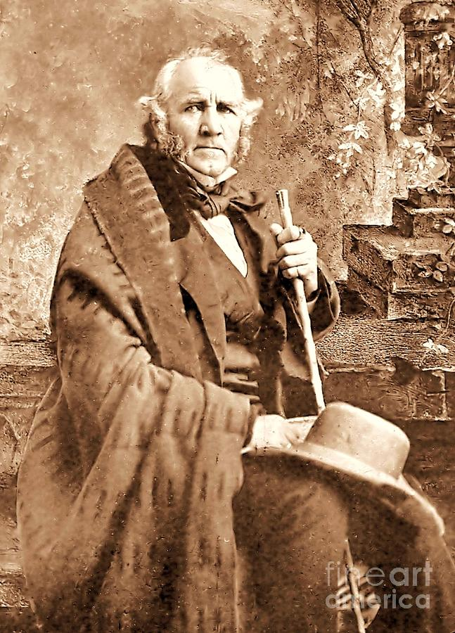 Sam Houston Photograph