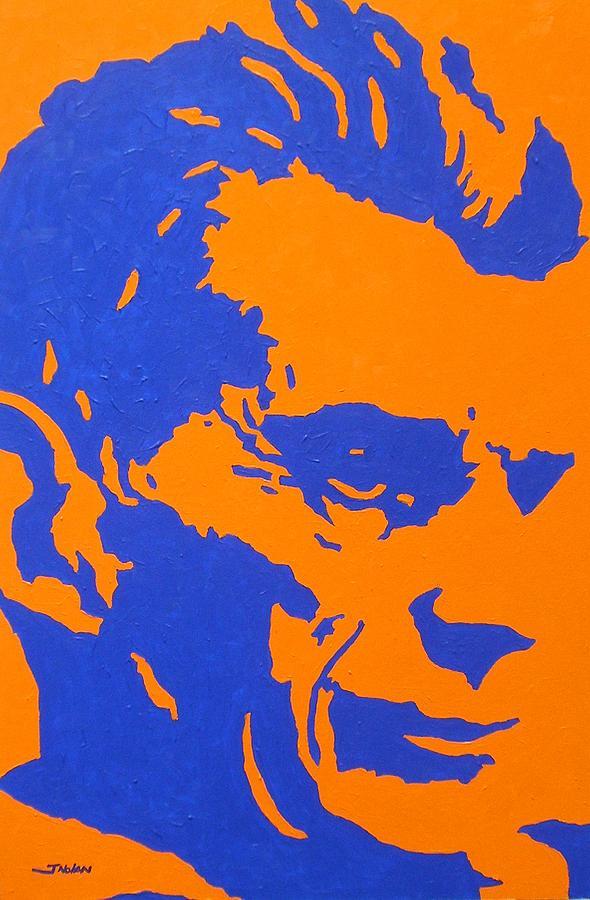 Samuel Beckett Painting