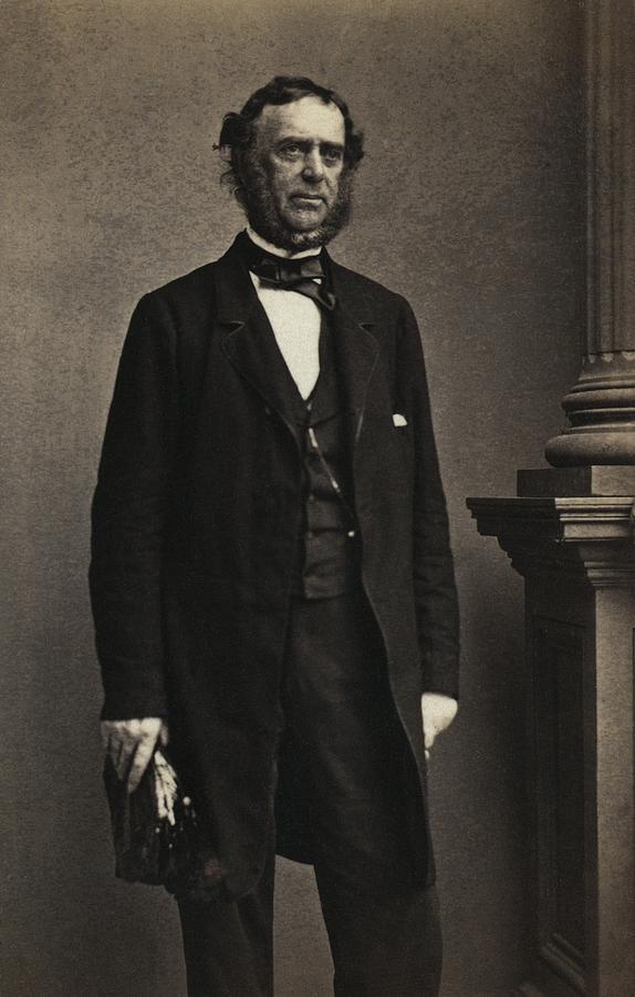Samuel Francis Du Pont 1803-1865 Member Photograph