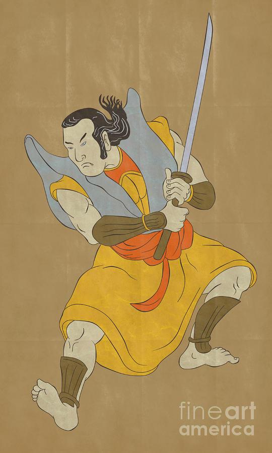 Two Samurai Stance Sword 7