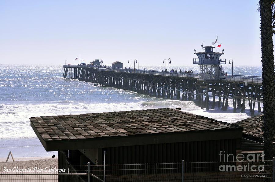 San Clemente Pier California Photograph