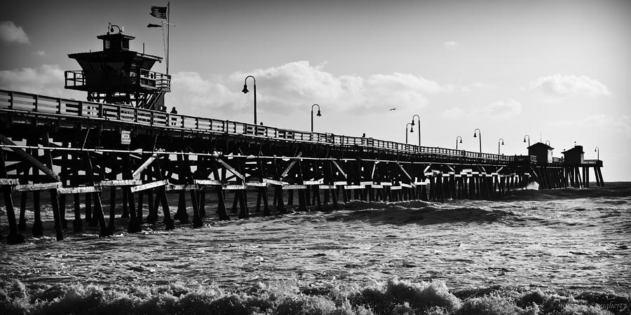 San Clemente Pier In Late Winter Photograph  - San Clemente Pier In Late Winter Fine Art Print