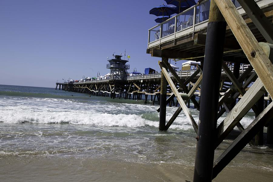 San Clemente Photograph - San Clemente Pier by Joenne Hartley