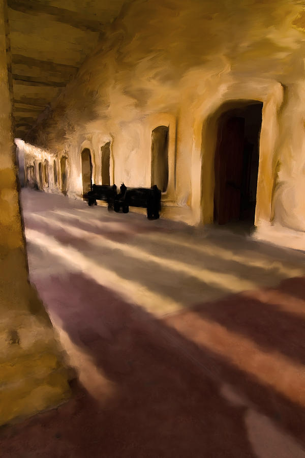 San Cristobal Shadows Digital Art