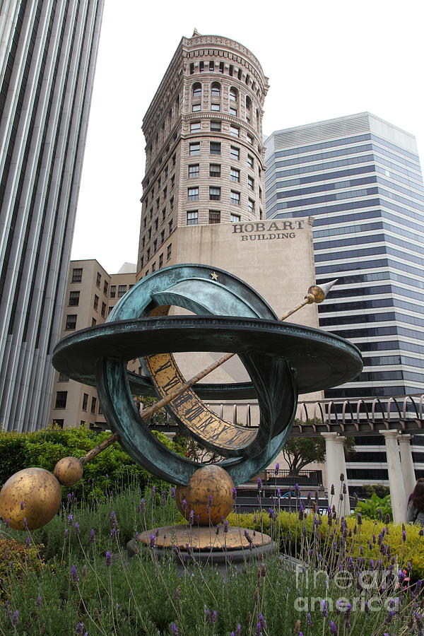 San Francisco - Hobart Building On Market Street Viewed From Top Of Crocker Galleria - 5d17872 Photograph