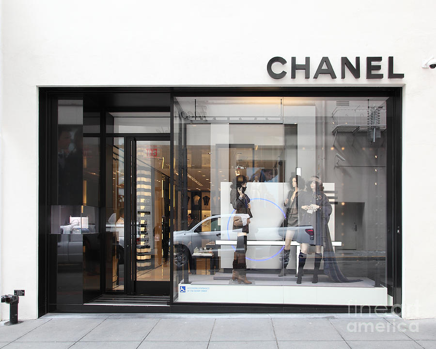 San Francisco - Maiden Lane - Chanel - 5d17791 Photograph  - San Francisco - Maiden Lane - Chanel - 5d17791 Fine Art Print