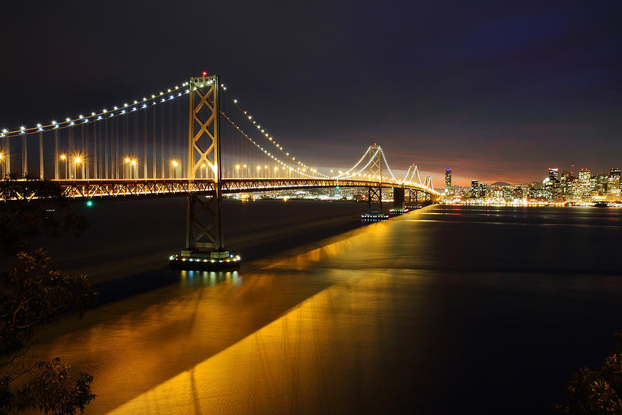 San Francisco Bay Bridge Photograph  - San Francisco Bay Bridge Fine Art Print