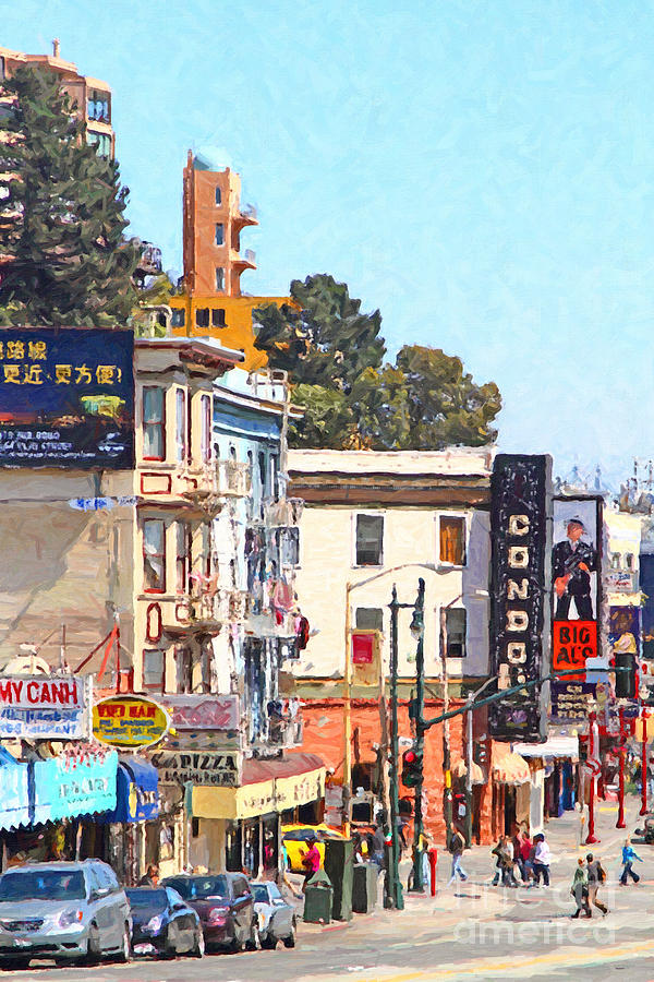 San Francisco Broadway Photograph  - San Francisco Broadway Fine Art Print