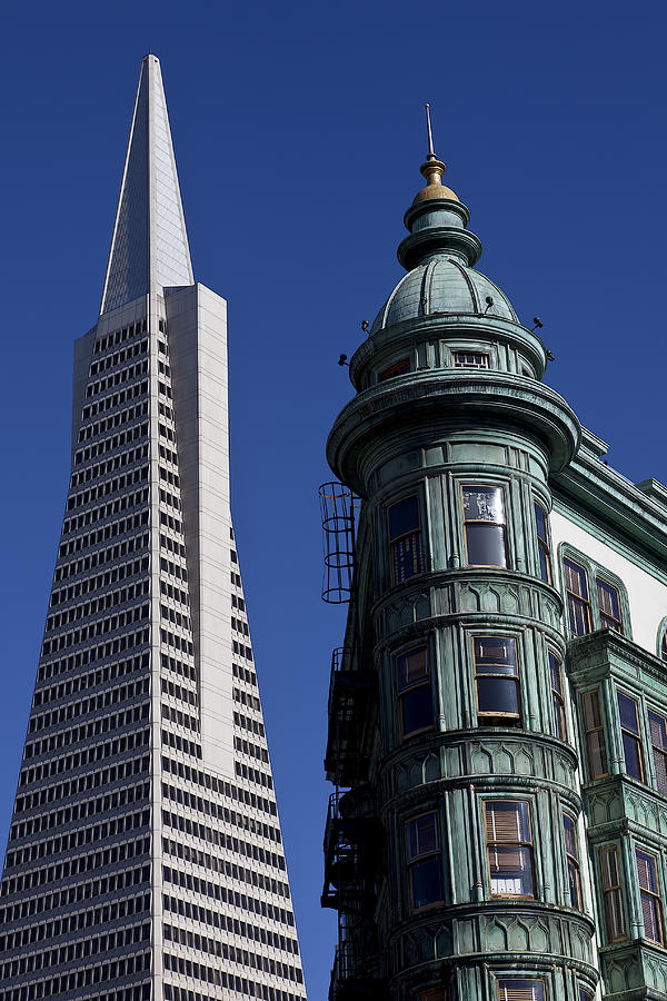 Sentinel Building Photograph - San Francisco Buildings by Garry Gay