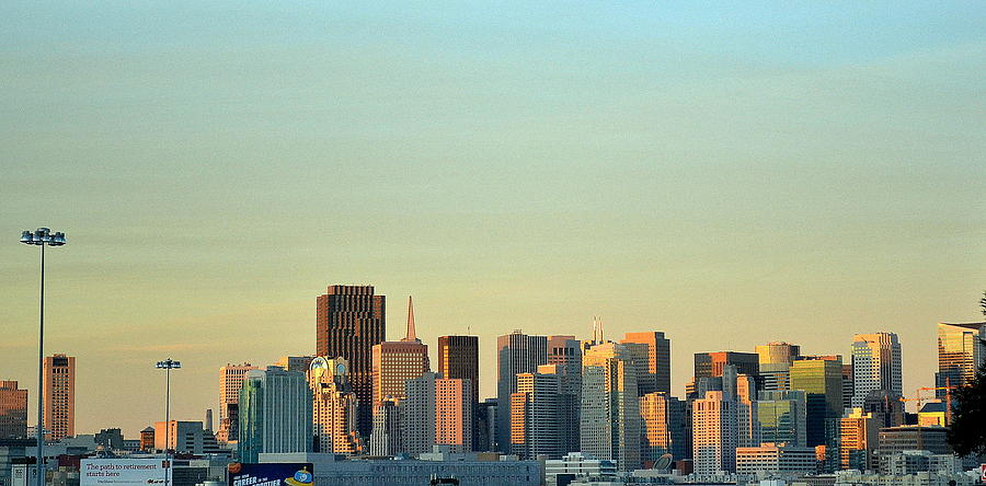 San Francisco Cityline Photograph Images Frompo