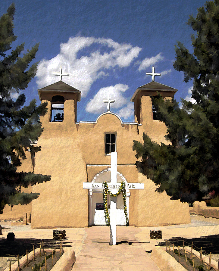 San Francisco De Asis Photograph