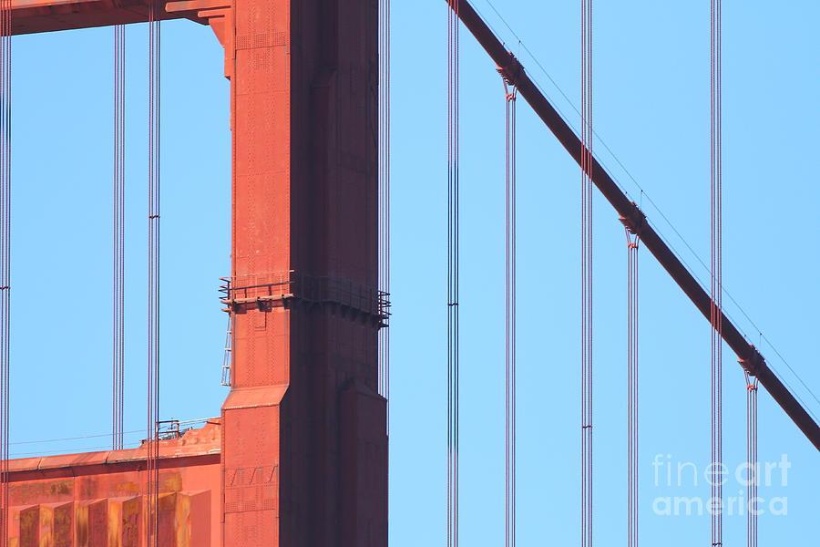San Francisco Golden Gate Bridge . 7d7954 Photograph