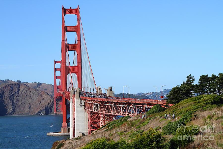 San Francisco Golden Gate Bridge . 7d8158 Photograph