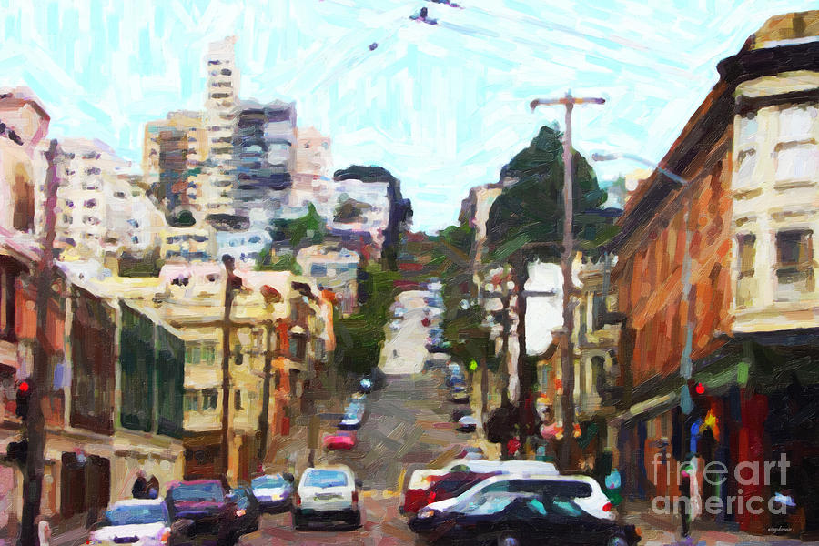 San Francisco Lombard Street Photograph