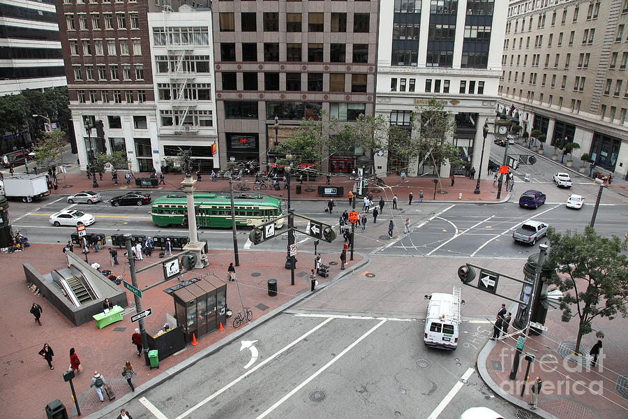 San Francisco Market Street - 5d17879 Photograph